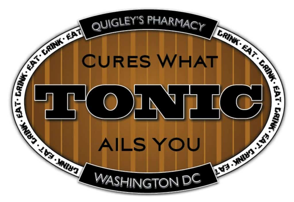 Tonic at Quigley's Pharmacy