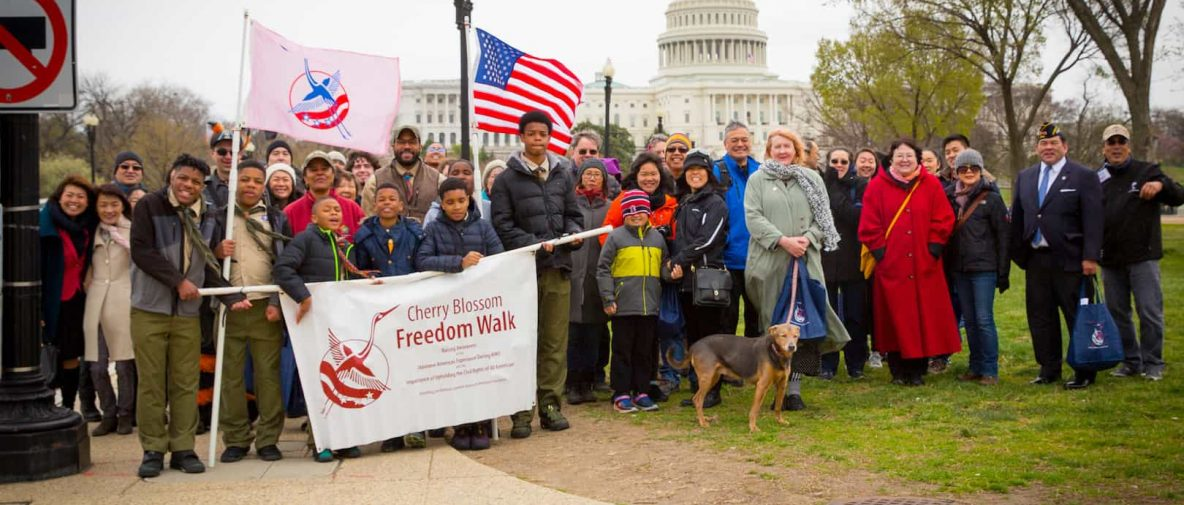 Freedom Walkers at the Capitol